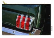 Mustang Tail Light Carry-all Pouch