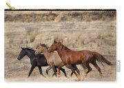 Mustang Trio Carry-all Pouch by Mike  Dawson