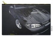 Mustang With Flames Carry-all Pouch