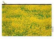 Mustard Flowers Carry-all Pouch