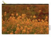Mustard Garden Carry-all Pouch