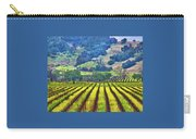 Mustard In The Vineyard Carry-all Pouch