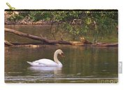 Mute Swan     Image 2      Spring        St. Joe River          Indiana Carry-all Pouch