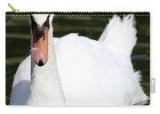 Mute Swan Feathers Of Lake Junaluska North Carolina  Carry-all Pouch