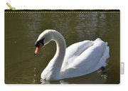 Mute Swan On Rolleston Pond Carry-all Pouch