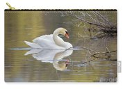 Mute Swan Reflection I Carry-all Pouch