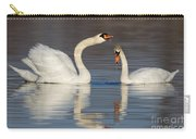 Mute Swans Drinking Carry-all Pouch