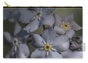 Muted Forget Me Not  Carry-all Pouch