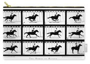 Muybridge: Horse Carry-all Pouch