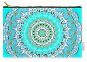 My Blue Heaven Mandala Carry-all Pouch