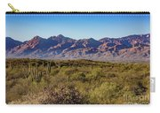 My Catalina Mountains Carry-all Pouch