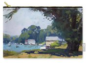 My Demonstration At Plein Air Workshop At Mayors Park Carry-all Pouch