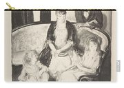 My Family, Second Stone George Bellows  Carry-all Pouch