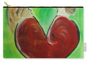 My Funny Valentine Carry-all Pouch by Donna Blackhall