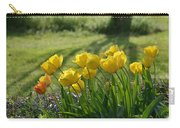 My Garden Tulips Carry-all Pouch