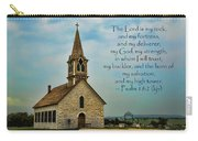 My God My Strength My Salvation Carry-all Pouch
