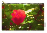 My Love Is Like  A Red Red Rose Of Sharon Carry-all Pouch