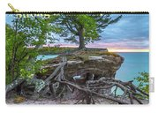 My Roots Are Strong Chapel Rock -6121 Pictured Rocks Michuigan Carry-all Pouch