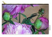My Spring Garden Peony Carry-all Pouch