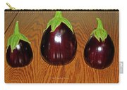 My Three Eggplant Fruits Carry-all Pouch
