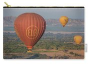 Myanmar. Bagan. Hot Air Balloons. In The Air. Carry-all Pouch