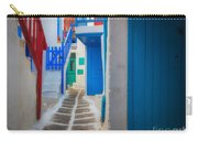 Mykonos Alley Carry-all Pouch