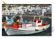 Mykonos Greece Fishing Boats Carry-all Pouch