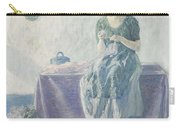Myron G. Barlow 1873 - 1937 Peasant Sewing Carry-all Pouch