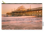 Myrtle Beach Apache Pier At Sunset Panorama Carry-all Pouch