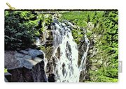 Myrtle Falls And Mount Rainier Carry-all Pouch