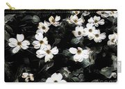 Mysterious Floral Carry-all Pouch