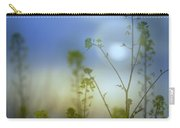 Mysterious Forest At Dusk Blue Carry-all Pouch