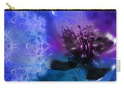 Mystic Poppy Blue Purple  Carry-all Pouch
