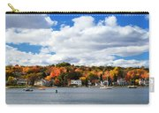 Mystic River In Autumn Carry-all Pouch