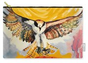 Mythical Eagle Perching Oil Painting Carry-all Pouch