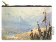 An Autumn Day, Mt Mckinley  Carry-all Pouch