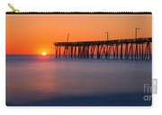 Nags Head Fishing Pier Sunrise Panorama Carry-all Pouch