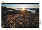Nahant Ma Castle Rock Carved Rock Carry-all Pouch