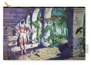 Naked In The Cloisters Carry-all Pouch