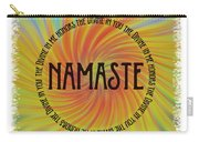 Namaste Divine And Honor Swirl Carry-all Pouch