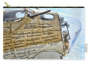 Names On B-17 Carry-all Pouch