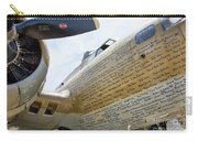 Names Pilots B-17 Carry-all Pouch