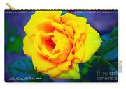 Nana's Yellow Rose Carry-all Pouch