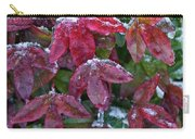 Nandina Winter Ice Carry-all Pouch