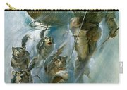 Nansen Conqueror Of The Arctic Ice Carry-all Pouch by James Edwin McConnell