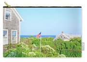 Nantucket Cottages Overlooking The Sea Carry-all Pouch