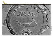 Nantucket Water Meter Cover Carry-all Pouch