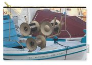 Naoussa Boat Paros Island Greece  Carry-all Pouch