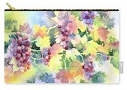 Napa Valley Morning 2 Carry-all Pouch by Deborah Ronglien