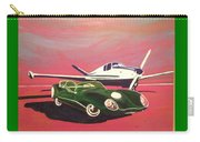 Napa Valley Lotus And Bonanza Beechcraft Carry-all Pouch